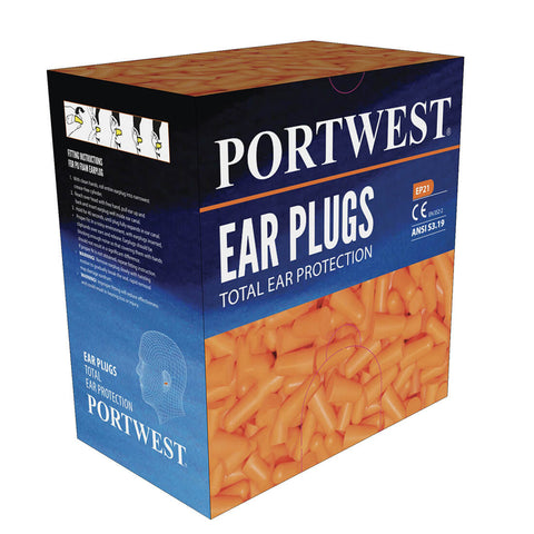EP21 - Ear Plug Dispenser Refill Pack (Box of 500)