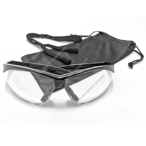 S-LS-352 - Safety Glasses with Bag and Cord