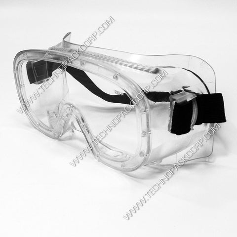 LS-359 - Safety Goggles for Chemical Splash and Lab Eye Protection