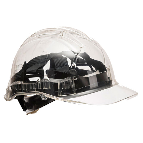 PV64 - Peak View Plus Ratchet Hard Hat - Non Vented