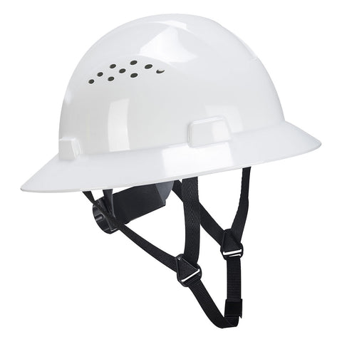 PW52 - Full Brim Premier Hard Hat Vented