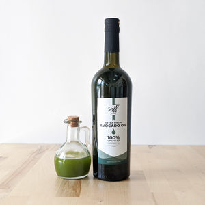 Zero Waste Cold Pressed Extra Virgin Avocado Oil(25oz)
