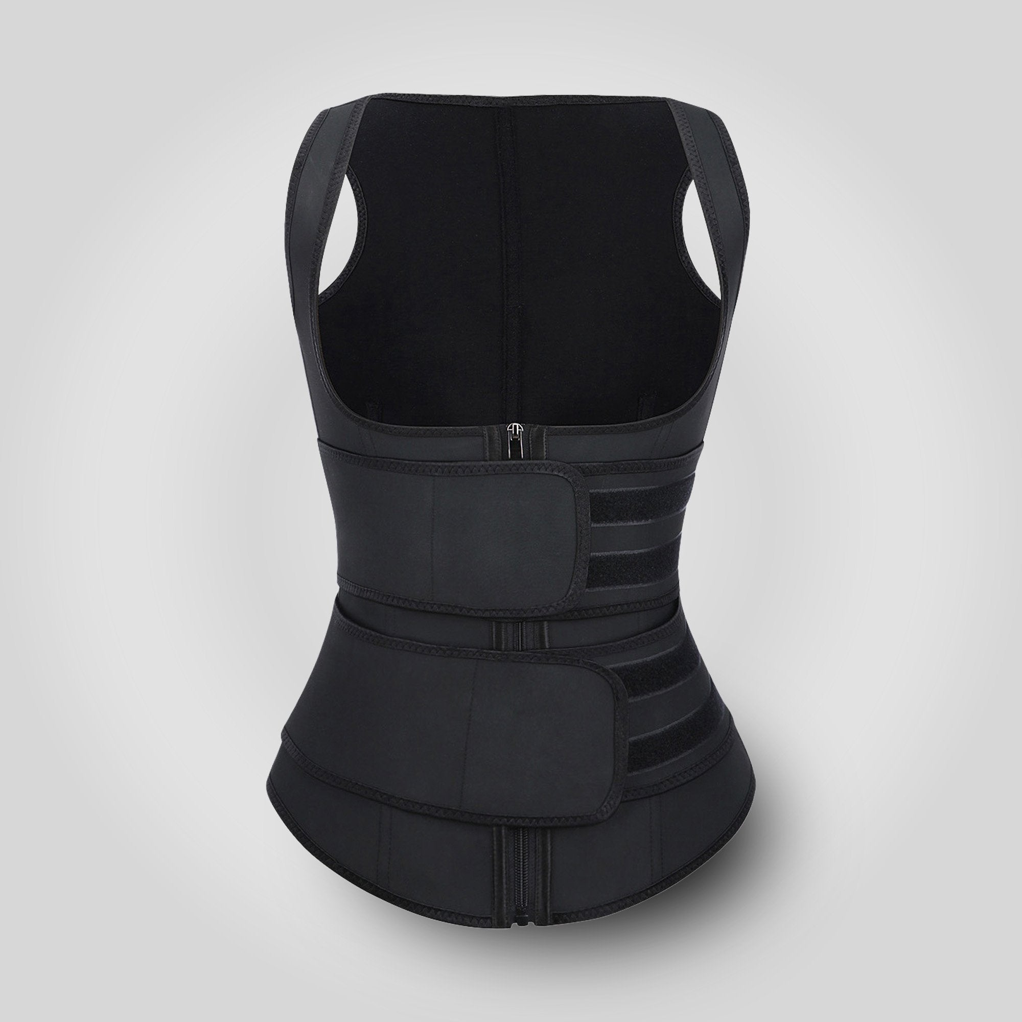 Bella™ Fit Grace - Double Belt Latex Waist Trainer Vest