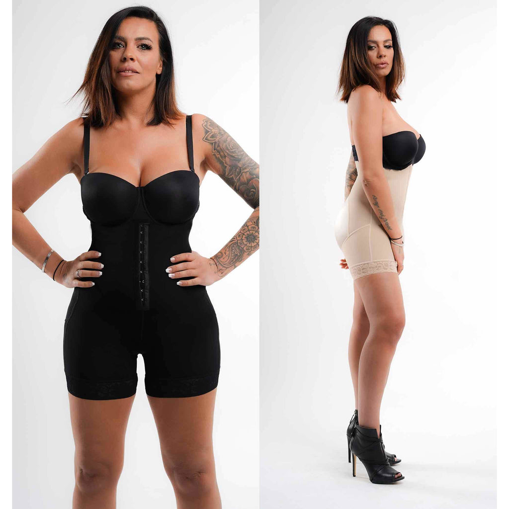 Bella™ Fit Valentina - hook front high waist body shaper