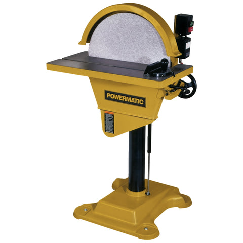Powermatic DS20 Disc Sander, 2HP 230V 1PH