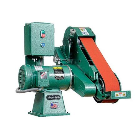 Burr King 960-400, 4 x 60 inch 2 Wheel Vertical/Horizontal Belt Grinder
