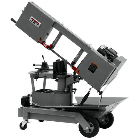 "Jet HVBS-10-DMWC 10"" Portable Band Saw with Coolant System 24465"