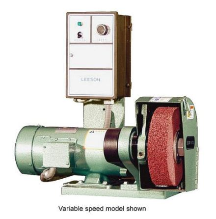 Burr King 800, 8 inch Deburring & Polishing Machine, Variable Speed
