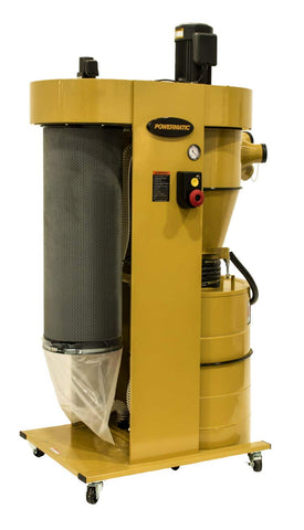 Powermatic PM2200 Cyclonic Dust Collector with HEPA Filter