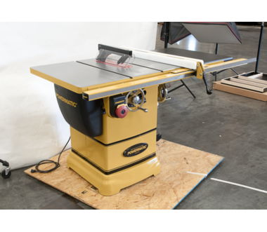 "Powermatic PM1000 Table saw, 1-3/4HP 1PH w/ 30"" Rip Accu Fence"