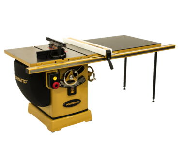 "Powermatic 2000B table saw - 5HP 3PH 230/460V 50"" RIP w/Accu-Fen"