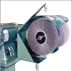 Burr King 1000, 10 inch Deburring & Polishing Machine, Dual Spindle, Variable Speed