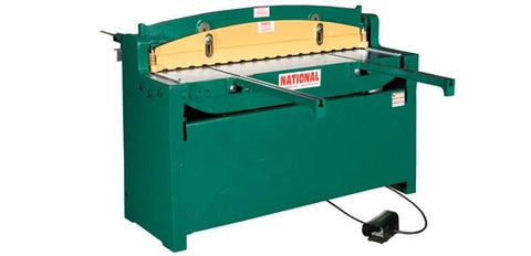 "National 52"" Air Shear, 16 gauge Mdl NA5216"