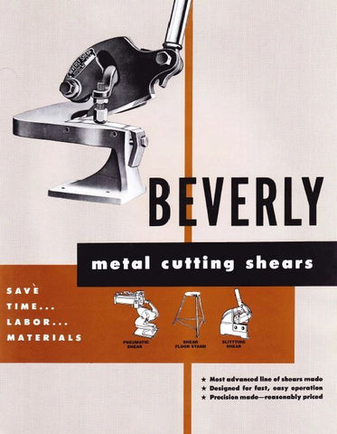 Beverly shear price book