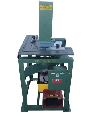 Tin Knocker Hydraulic Corner Notcher - Free Freight