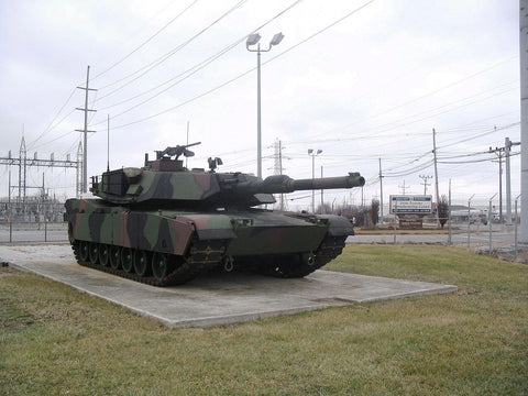 Used Army Tank