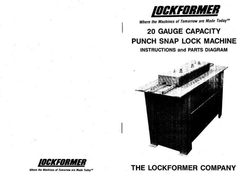 Lockformer Snap Lock