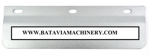 "22596 Wilder Backgauge Material Shelf - For New Style Backgauges - 14"" Long"