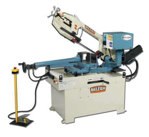Baileigh Gear Driven Dual Miter Band Saw BS-350SA