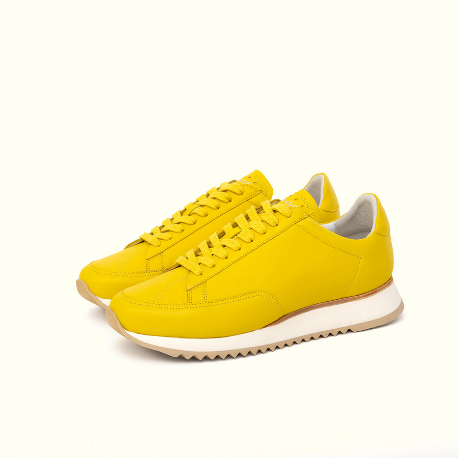 sneaker-cabourg-nappa-butter-yellow-timothee-paris-quarter-view-lifestyle-brand-small-size-picture-women