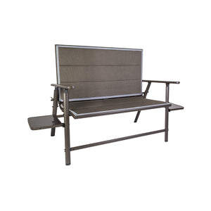 Naples Pro Bench with Side Tables