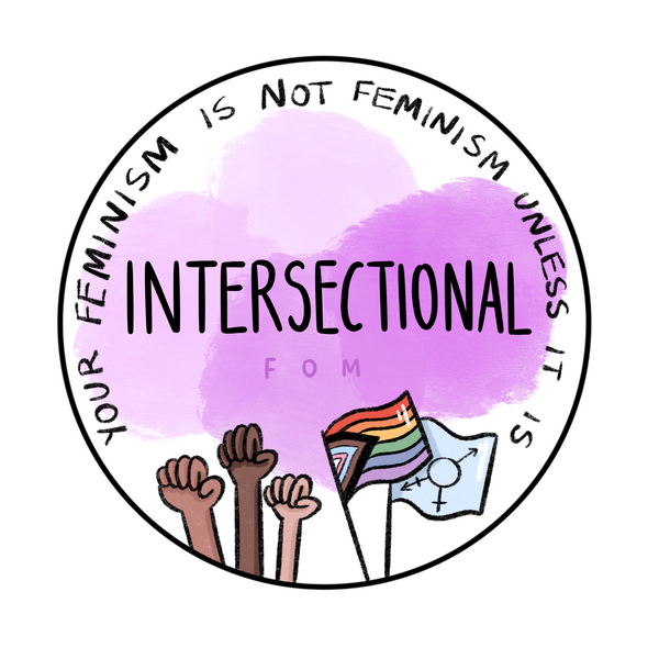 Intersectional Feminism design commission for FOM