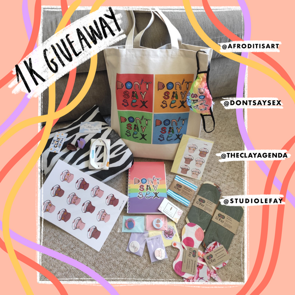 1K Giveaway! Collaboration with female entrepreneurs!