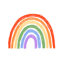 "Load image into Gallery viewer, ""Rainbow"" badge - Afroditi's Art"