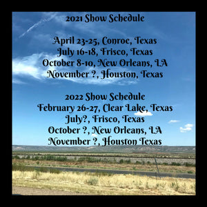 Show Schedule - See us at the Show