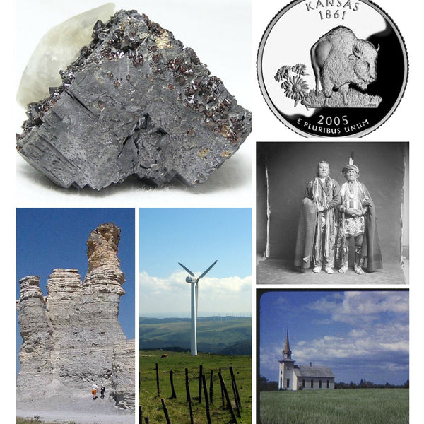 Kansas History and State Mineral Galena