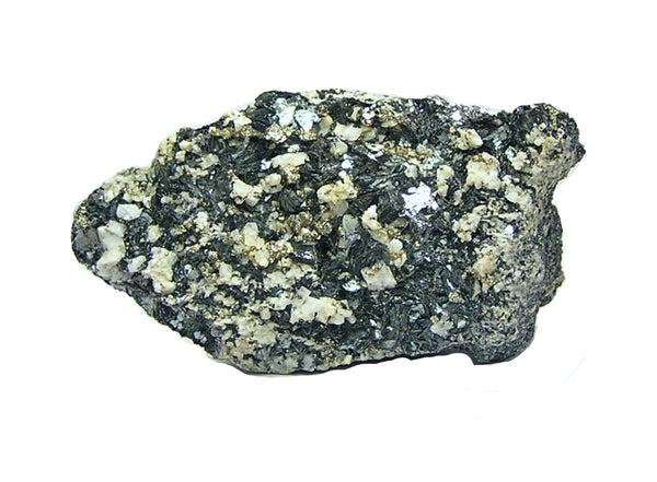 Hematite Pyrite Adularia Mineral Specimen from Al Kidwell's estate collection. Old Label included