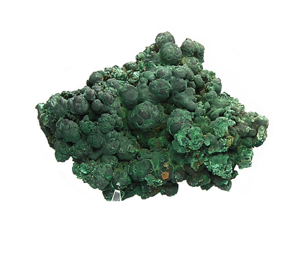 Green Malachite Mineral Specimen, Tsumeb, Namibia, Vintage from an estate collection