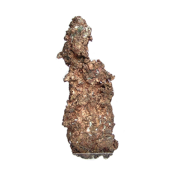 "Native Copper Nugget with Crystallization, Large ""Red Metal"" Mineral Specimen,  Keweenaw peninsula Michigan"