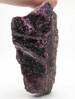 Roselite Burgundy Red, Rare Crystals on  Matrix,  Specimen for the expert collector