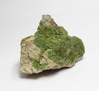 Pyromorphite Green Crystal Druse with micro Wulfenite Mineral Specimen, Wheatley Mine