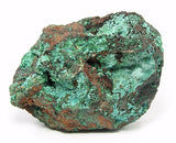 Aurichalcite and Malachite Blue Needle Crystal and Green druzy on limonite rock matrix,  Natural Copper Mineral, LARGE Geo Specimen, Mexican