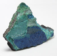 Cornetite Rare Crystalline Druzy on chrysocolla malachite Mineral Specimen from Congo Africa Collector's Select