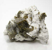 Siderite Crystals on Albite, Collector's Mineral Specimen Mont Saint Hilaire Canada