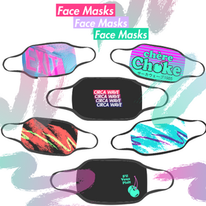 Circa Wave Face Masks