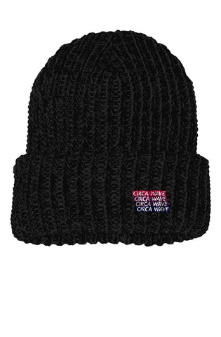 CIRCA WAVE Beanie Embroidery