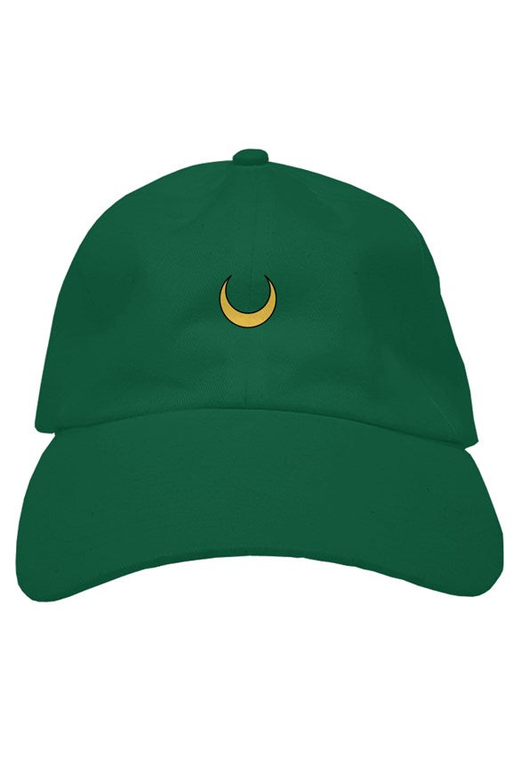 Sailor Jupiter Crescent Moon Dad hat