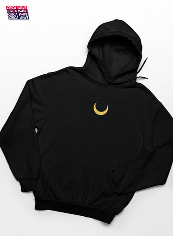 Sailor Moon Embroidered Crescent Moon Sweatshirt