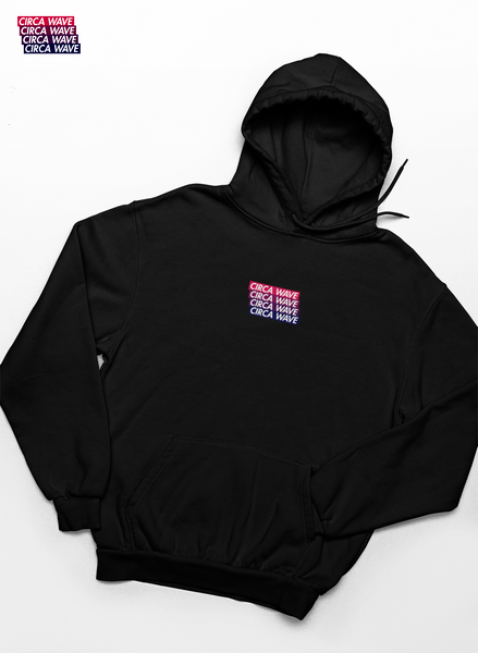 CIRCA WAVE Embroidered Classic Hoodie