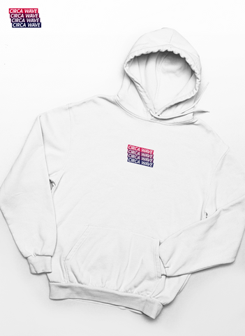 CIRCA WAVE Embroidered OFF-White Classic Hoodie