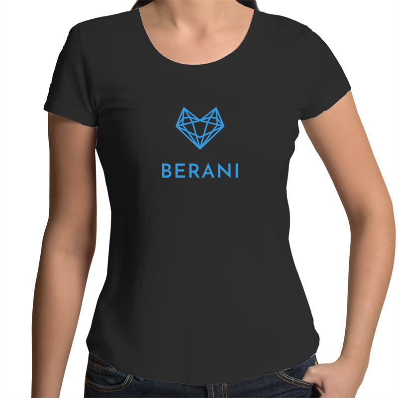 Represent - Womens Scoop Neck T-Shirt - Berani Music & Apparel