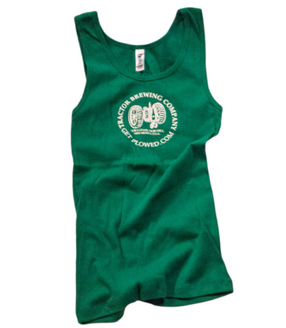 Ladies Green Tank