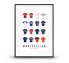 FOOT | MONTPELLIER Maillots Historiques