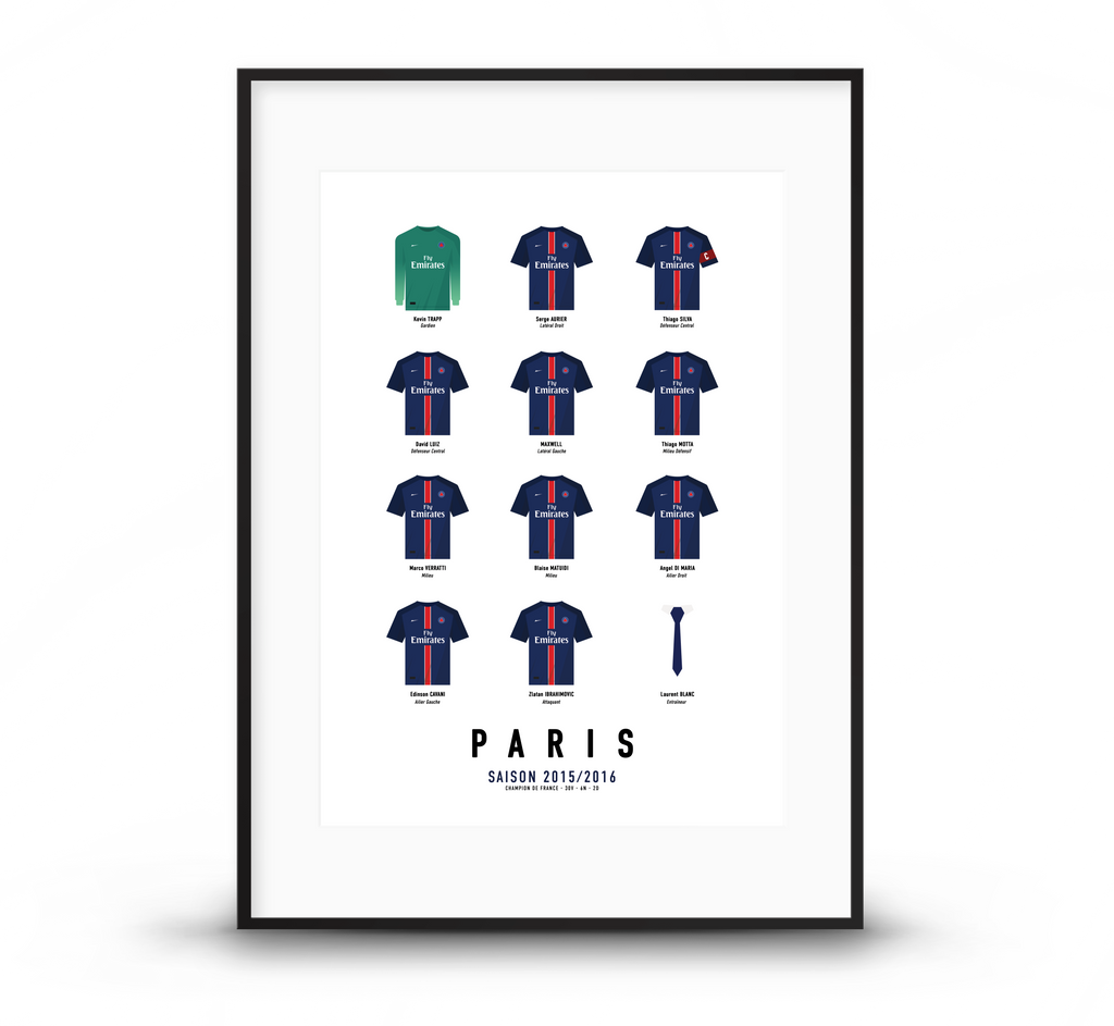 PARIS | Champion de France 2016