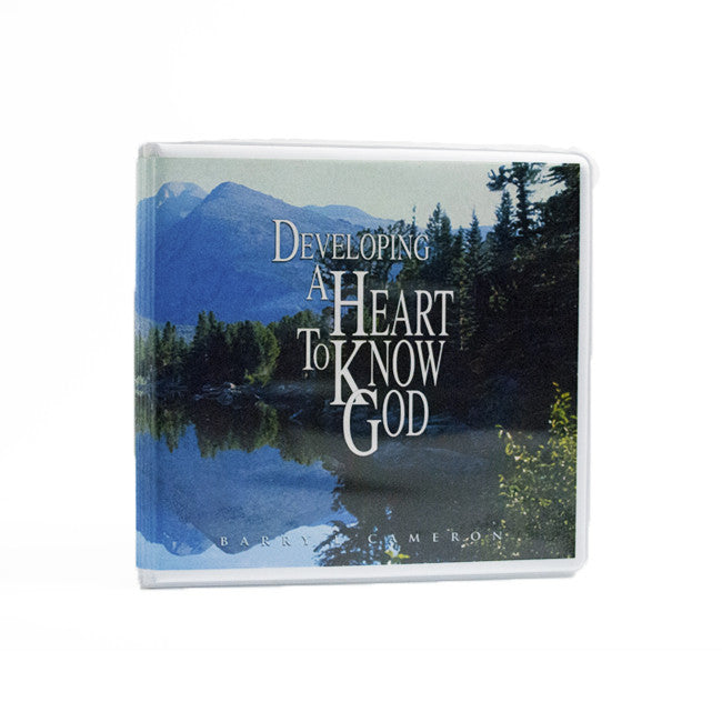 Developing A Heart To Know God