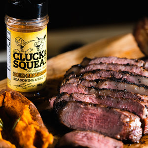 Bold Browning - Cluck And Squeal BBQ Rubs and Seasonings.